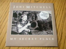 "JONI MITCHELL - MY SECRET PLACE   7"" VINYL PS"