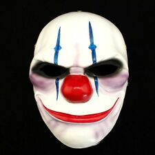 PAYDAY 2 The Heist Joker Clown Chains Mask Props Halloween Mask Collection #49