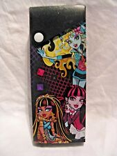 Monster High Pencil Case Slide Open Box w/ Snap Closure  2015 *MINT* Brand New