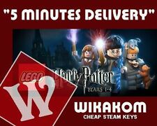 LEGO Lego Harry Potter Years 1-4 PC [Steam CD key] No Disc/Box, Region Free