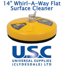 "BE Whirlaway 14"" Rotary Flat Surface Cleaner 276 Bar Pressure Washer Power"