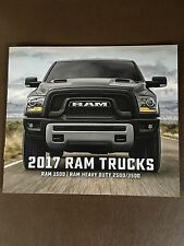 2017 Dodge Ram Trucks 1500 2500 3500 6-page Small Original Sales Brochure