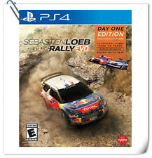PS4 Sebastien Loeb Rally Evo SONY PLAYSTATION Games Racing PQube