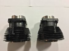 6674FC&RC Pair Of Shovelhead Cast Iron Cylinders (Loc:WS)