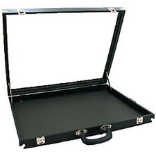 "Glass Top Travel Display Case 30"" x 17 1/2"" Swap Meet"