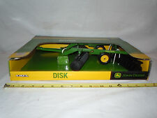 John Deere Disk   By Ertl   1/16th Scale