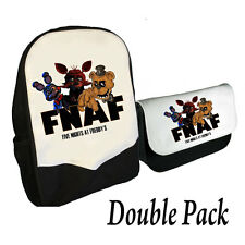FIVE NIGHTS AT FREDDY'S BACKPACK & PENCILCASE DOUBLE PACK FNAF GANG (BMS)
