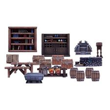 Dungeon Saga Furniture Pack (Mantic figures DS14) free post