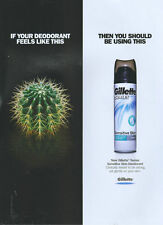 Gillette Series Sensitive Skin  Deodorant 2005 Magazine Advert #1412