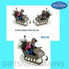 DISNEY STORE FROZEN ELSA WIND-UP SOUNDS SLEIGH TOY XMAS ORNAMENT TREE DECOR GIFT