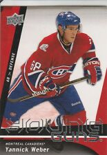 YANNICK WEBER RC 09-10 YOUNG GUNS