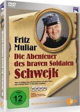 DIE ABENTEUER DES BRAVEN SOLDATEN SCHWEJK (Fritz Muliar) 4 DVDs NEU+OVP