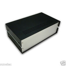 "SV1063 10"" Full Aluminum Project Enclosure Instrument Case Electronic Box"
