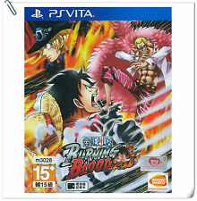 PSV One Piece Burning Blood ENG 海贼王 中文版 SONY PlayStation VITA Beat 'em Up Bandai