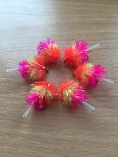 6 Fruit Salad Blobs -  trout lure size 12 Fly Fishing