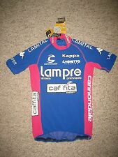 Lampre Caffita Italy jersey shirt cycling wielershirt maglia ciclismo size L