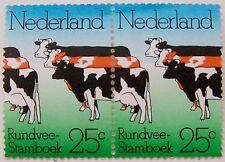 Ned. 1974 - NVPH 1052 Dubbele koe met plaatfout 1052 PM6 postfris