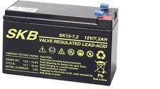 Batteria Ermetica Ricaricabile al Piombo 12V Volt 7Ah Ideale per UPS e ALLARMI