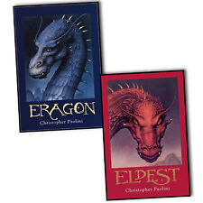 Christopher Paolini Inheritance Cycle 2 Books Collection Pack Set New Hardback