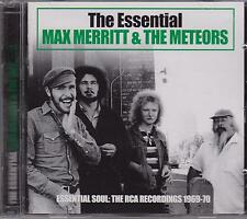 THE ESSENTIAL MAX MERRITT & THE METEORS 2 CD's - NEW -