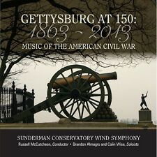 Gettysburg At 150-Music Of The American Civil War - Stamp/Dawson (2013, CD NEUF)