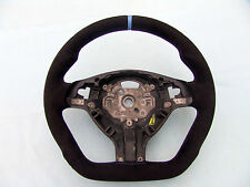 BMW M TECHNIC STEERING WHEEL E46 M3 SMG, FLAT BOTTOM, ERGONOMIC, NEW ALCANTARA