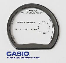 VINTAGE GLASS CASIO DW-004 SV / 8V NOS