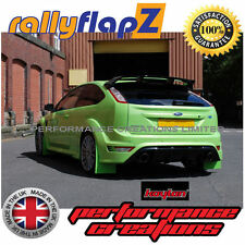 rallyflapZ FORD FOCUS RS Mk2 (09-11)Mud Flaps Ultimate Green Kaylan Polyurethane