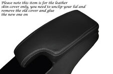 GREY STITCHING FITS RENAULT MEGANE 2009-2013 LEATHER ARMREST SKIN COVER  ONLY