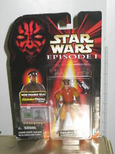Star Wars Episode 1 The Phantom Menace NABOO ROYAL SECURITY Action figure Sealed