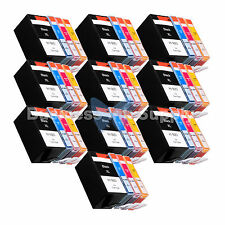 40 PACK 920XL NEW GENERIC 920 HIGH YIELD 920XL w/Chip+INK LEVEL for HP Printer