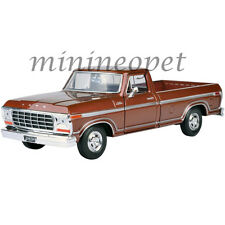MOTORMAX 79346 1979 79 FORD F-150 PICK UP TRUCK 1/24 DIECAST MODEL CAR BROWN