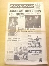 MELODY MAKER 1956 AUGUST 11 TONY CROMBIE ALAN CLARE JAZZ BIG BAND SWING