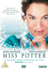 MISS POTTER (2006 Renee Zellweger) - DVD - REGION 2 UK