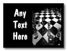 Chess Personalised Dinner Table Placemat