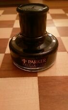 PARKER PENMAN EBONY WRITING INK for fountain pen 50ml bottle RARE