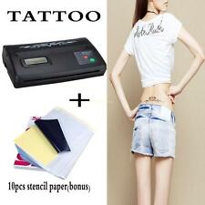 110V-220V Tatuaggi Copier termico Tattoo Thermal Copier Stencil Transfer Machine