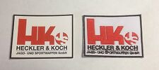 Heckler & Koch Patch & Sticker 70mm X 50mm