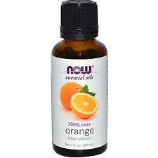 Orange (100% Pure), 1 oz - NOW Foods Essential Oils