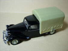 CITROEN  TRACTION  PLATEAU  BACHE  POUR  DINKY  SOLIDO   VROOM  TRANSKIT  1/43