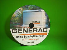 GENERAC Home Standby Generator Models 8kW-20kW Air/Liquid cooled Service Manual