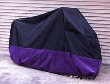 Purple Motorcycle Cover For Kawasaki Vulcan 2000 Classic 1600 Mean Streak Nomad