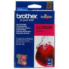 BROTHER LC980M CARTUCCIA MAGENTA ORIGINALE DCP-145C DCP-195C MFC-250C MFC-295CN