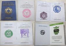 STAR WARS Celebration VI Show Passport with stamps 501st droid hunt RARE