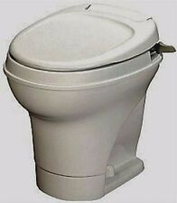 Thetford Aqua Magic V- RV Camper Toilet Parchment High Profile HandFlush 31668