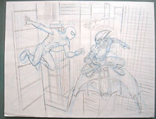 (PRL) SPIDERMAN VS GOBLIN MIKE WIERINGO RINGO MATITA ORIGINALE ORIGINAL PENCIL