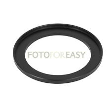 Black 48mm to 49mm 48mm-49mm Step Up Filter Ring