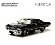 Supernatural 1967 Chevy Impala Sports Sedan 1:43 Diecast Car Sam Dean Castiel