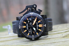 Graham Chronofighter Oversize Diver Deep Black Seal Rare 2OVDIVAZ.B02A.K10B New