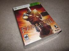 Fable 3 III Limited Collector's Edition (Xbox 360/One/XBO/XB1/X1) new SEALED